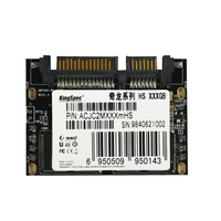 Acjc2m064hs Kingspec модуля 1.8 дюймов Половина тонкий SSD 64 ГБ твердотельный жесткий диск для ноутбука с SATA II/III 7 + 15 pin порт