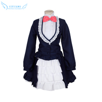 Show By Rock Cyan Cosplay Costume Stage Performence Clothes Perfect Custom For You