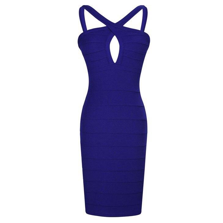 2017 sexy elegante azul marino mujeres vestido bodycon vestidos de ...