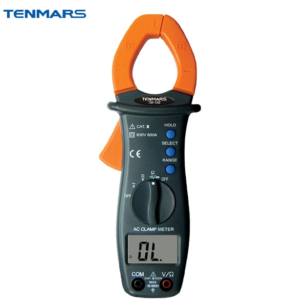 TM16E 3 1/2 LCD Display Automatic Shift AC Digital Clamp Table Clamp Meter Tester ac 3 1 2 lcd display automatic manual shift digital clamp meter tester tm 1012 tm1012