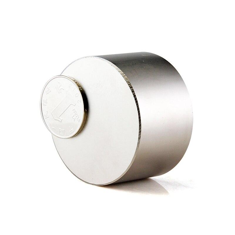 1 pièces Forte Dia 50x30mm Terre Rare néodyme Aimants N52 en gros tirer force 154 kg