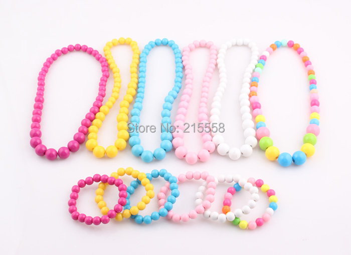 Candy Color Beads Children Jewes
