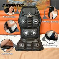 12V Electric Heated Seat Cushion Winter Car Massage Pad Relaxation Multifunction Durable Heater Warmer Car Seat