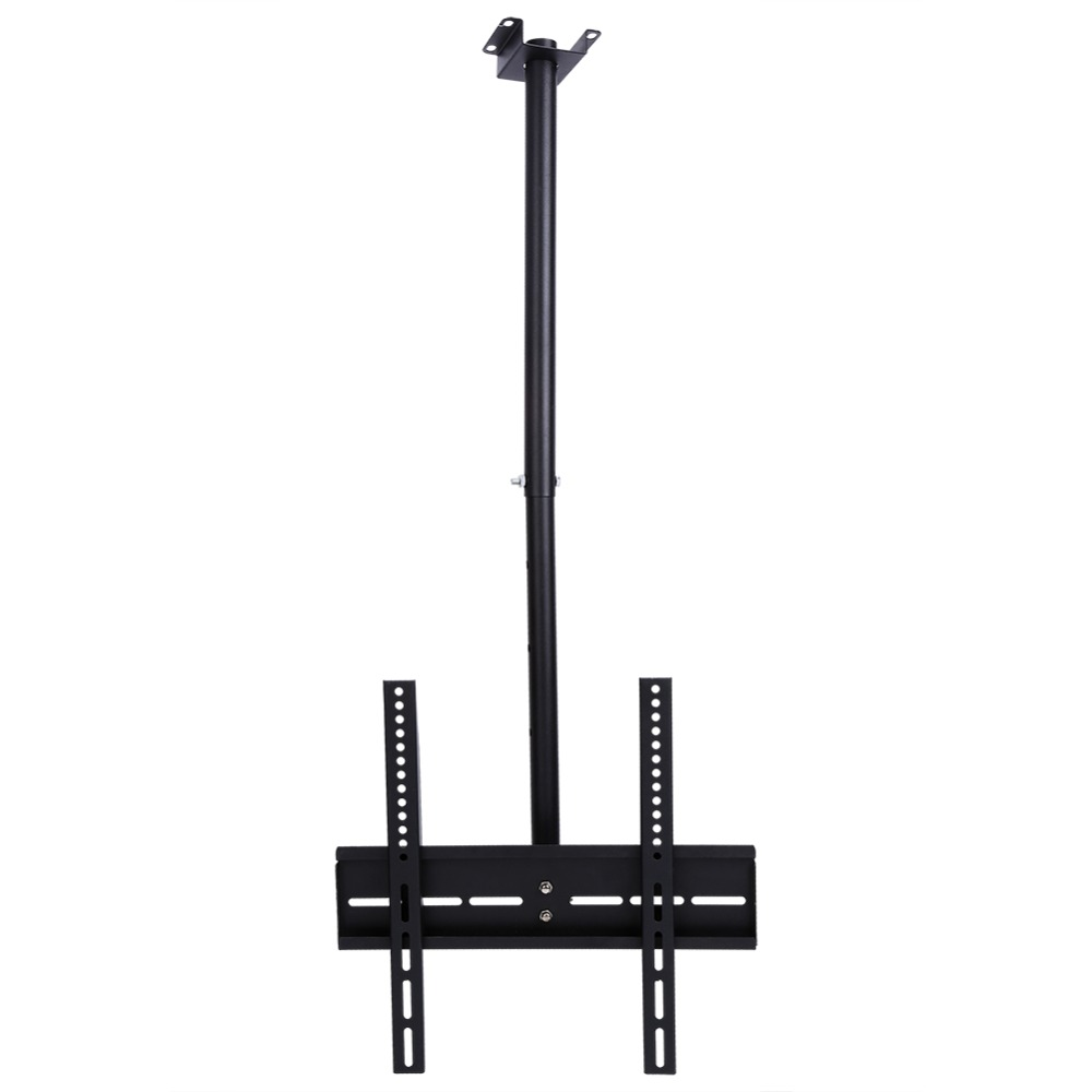 26-<font><b>32inch</b></font> TV Ceiling Roof Mount Bracket LCD LED <font><b>Monitor</b></font> Holder Flat Tilting Tools Accessory Loading 80Kg image