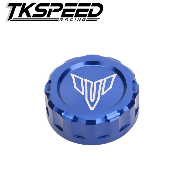 Motorcycle Rear Brake Fluid Reservoir Cap Oil Cup Cover for Yamaha YZF R3 R25 MT07 FZ7 MT09 FZ9