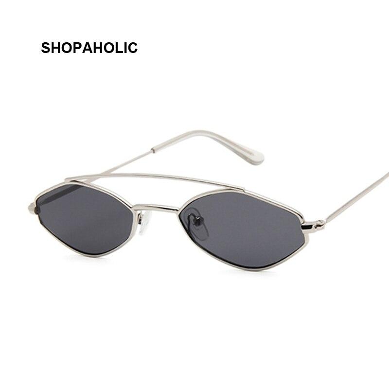 Cute Sexy Ladies Cat Eye Sunglasses Women Metal Frame Fashion Vintage Gradient Sun Glasses For Female UV400 Shades
