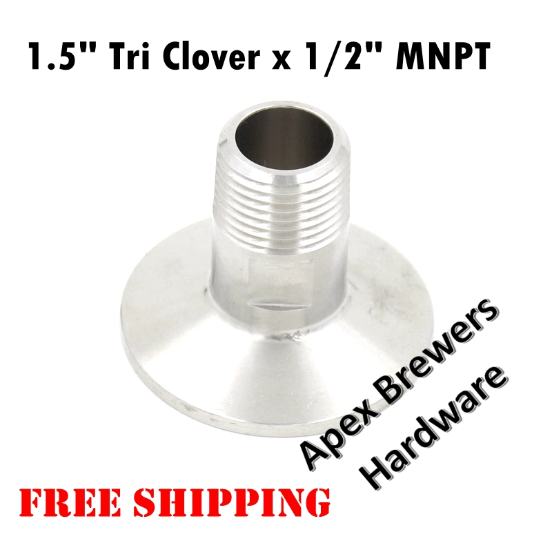 1 Tri Clover Compatible Brewers Hardware Tri Clover Compatible Cross