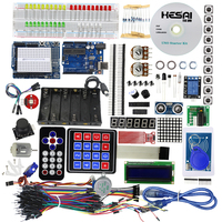 Starter Kit Uno R3 Breadboard and Holder Step Motor / Servo /1602 LCD / Jumper Wire/ With tutorial/ UNO R3 for DIY KIT