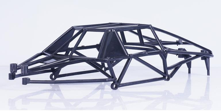 Free Shipping!!! New style Baja 5T 5SC plastic cage full protection roll cage 5t 5sc metal roll cage edition green roll cage with body for 1 5 hpi baja 5t 5sc rovan kingmotor car