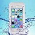 Para iphone 5s 4s case sujeira durável à prova de choque à prova d' água mergulho underwater capa protetora com alça para apple iphone5 5s 4