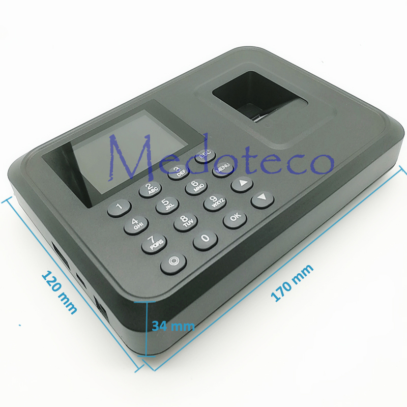 Fingerprint Time Clock Recorder Auot Excel Report Time Attendance Employee Electronic Fingerprint Time Attendance