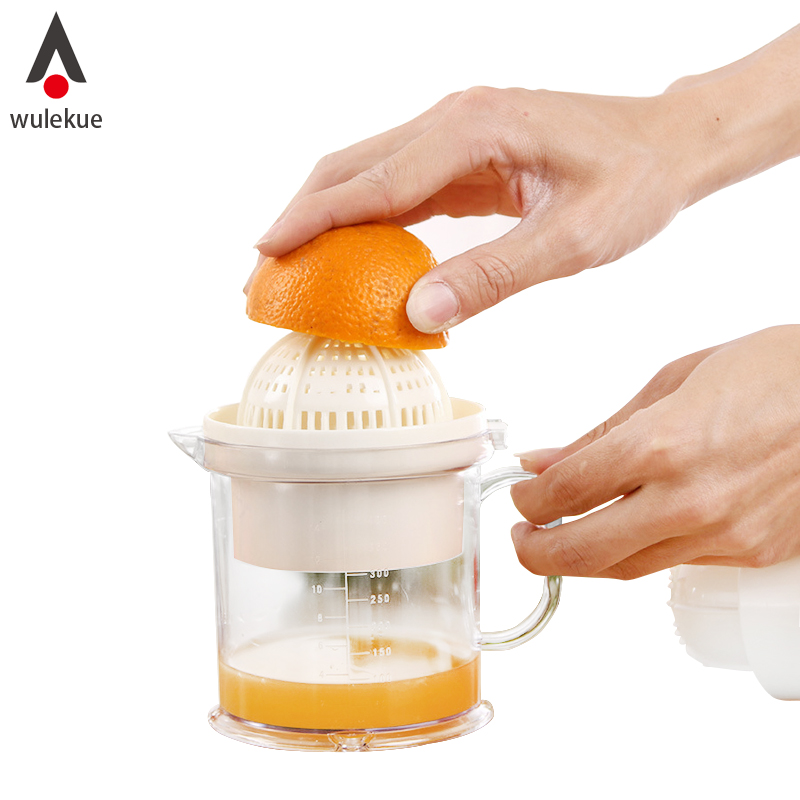 Wulekue 1Set Detachable Orange Lemon Squeezer Manual Fruit Juicer Kitchen Tool