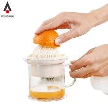 Wulekue 1 satz abnehmbare orange lemon squeezer manuelle saftpresse küche werkzeug