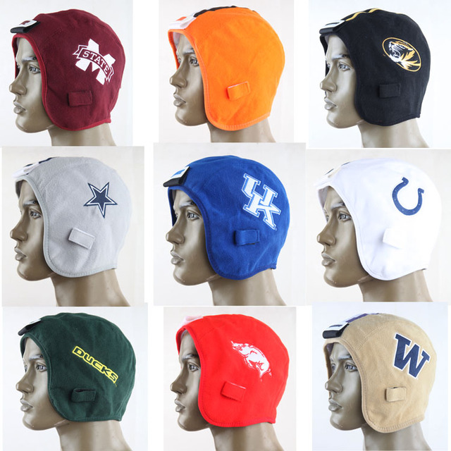 New NFL AFC American Football Team Embroidery LOGO Hats Cowboys Eagles  Green Bay Packers Broncos Outdoor Fleece Warm Hats Cap c27e3595e19