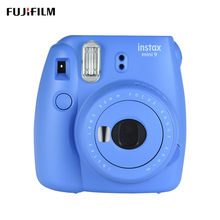 Fujifilm Instax Mini 9 Instant Camera Film Cam with Selfie Mirror, Sea Blue(China)
