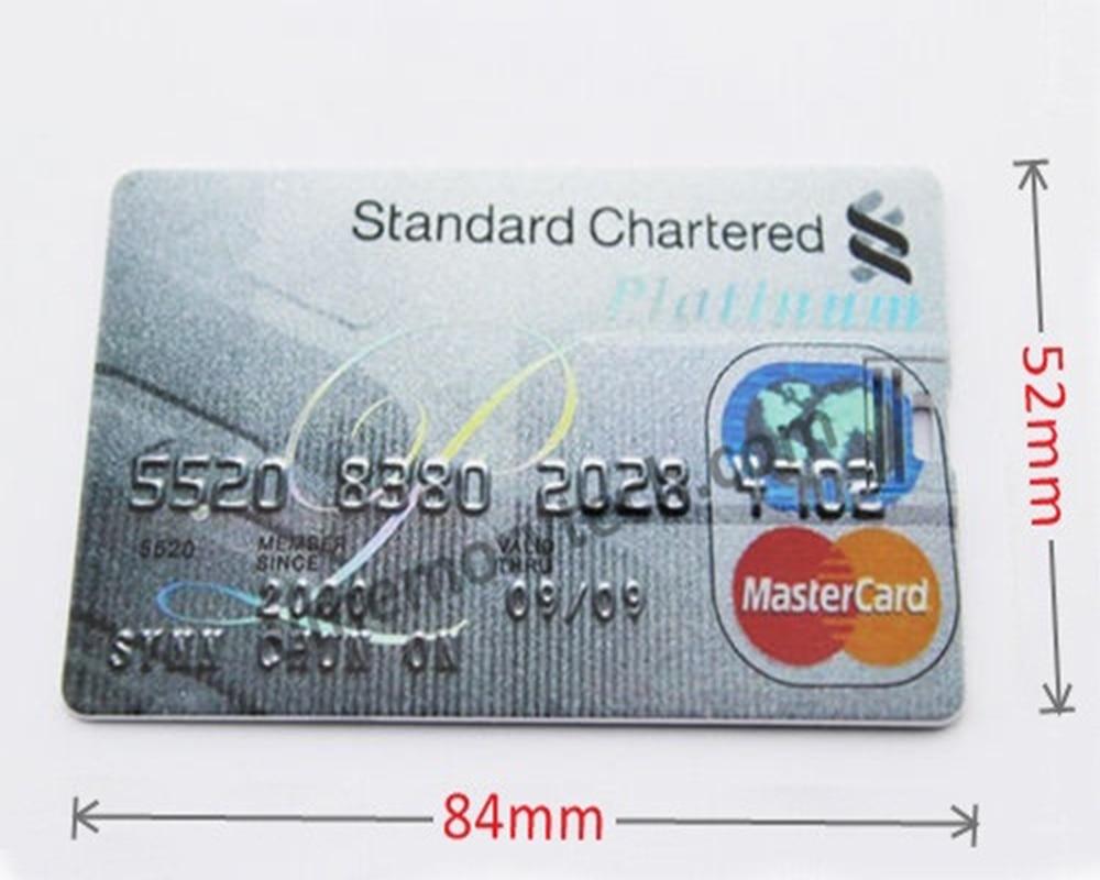 Chyi Credit Card Series Usb Flash Drive Pen Drive American Express