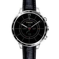 FINOW Q7 Plus 3G Smartwatch Phone 1.3 inch Android 5.1 MTK6580 1.3GHz Quad Core 8GB ROM 0.4MP Camera Bluetooth Smartphone