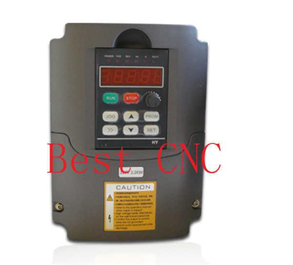 2.2kw Variable Frequency Drive VFD Inverter 2.2KW 3HP 220V10A  cnc inverter 2.2kw inverter 220v 5 5kw vfd variable frequency drive vfd inverter 3hp input 3hp output cnc spindle motor driver spindle motor speed control