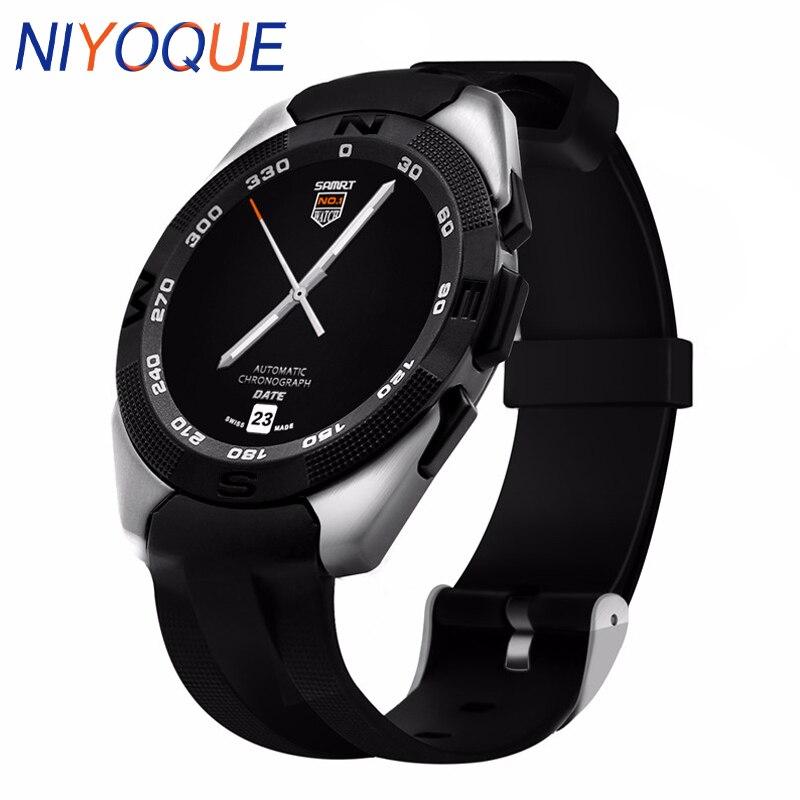NIYOQUE Smart Watch G5 Support Voice Control Siri ECG Heart Rate Data Transmission Smartwatch PK K88h DZ09 GT08 Relogio mart