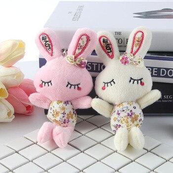 Cuna cochecito niño juguetes colgantes infantil juguete del desarrollo educativo no tóxico sonajero móvil lindo conejo de peluche Speelgoed