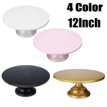 4 Color Grand Baker Cake Stand 12 Inch White Wedding Tools Fondant Bakeware Decorating Supplies Dessert Table Pops