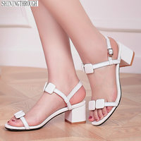 high Heels Sandals woman suede leather woman Summer back strap strap Sandals Office Daily Shoes Woman large size 41 42 43