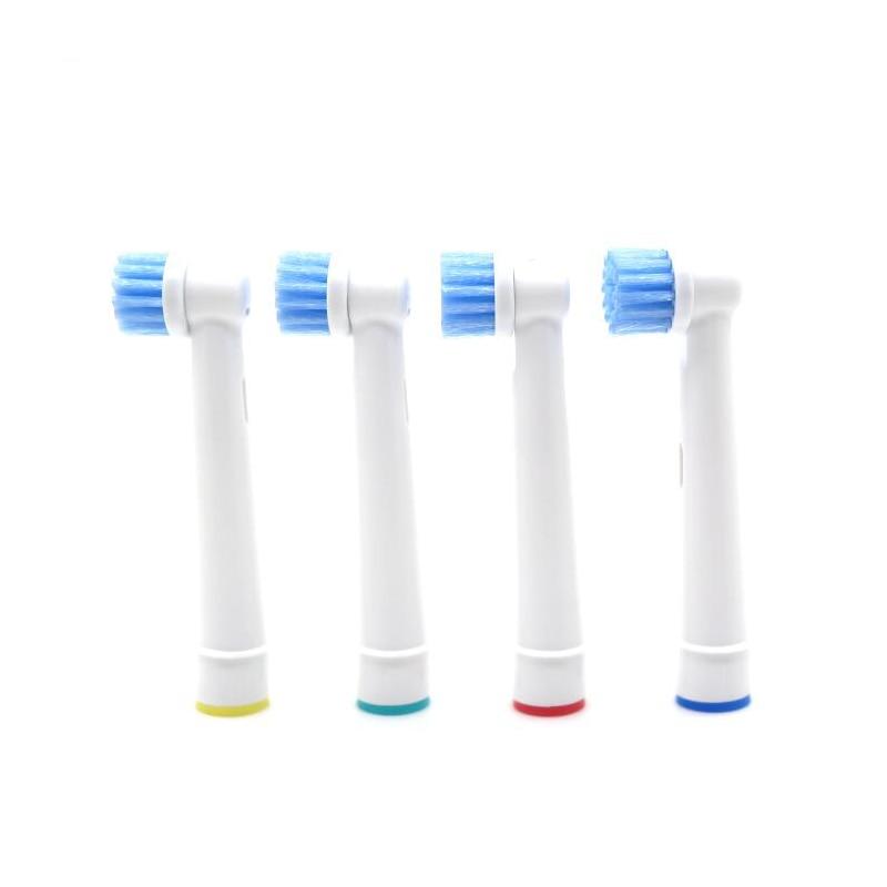 precisão limpa substituição escova de dentes elétrica