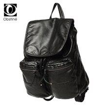 2017 искусственная кожа женские рюкзак сплошной школьный женские рюкзаки женщин консервативный стиль высокое качество бренда