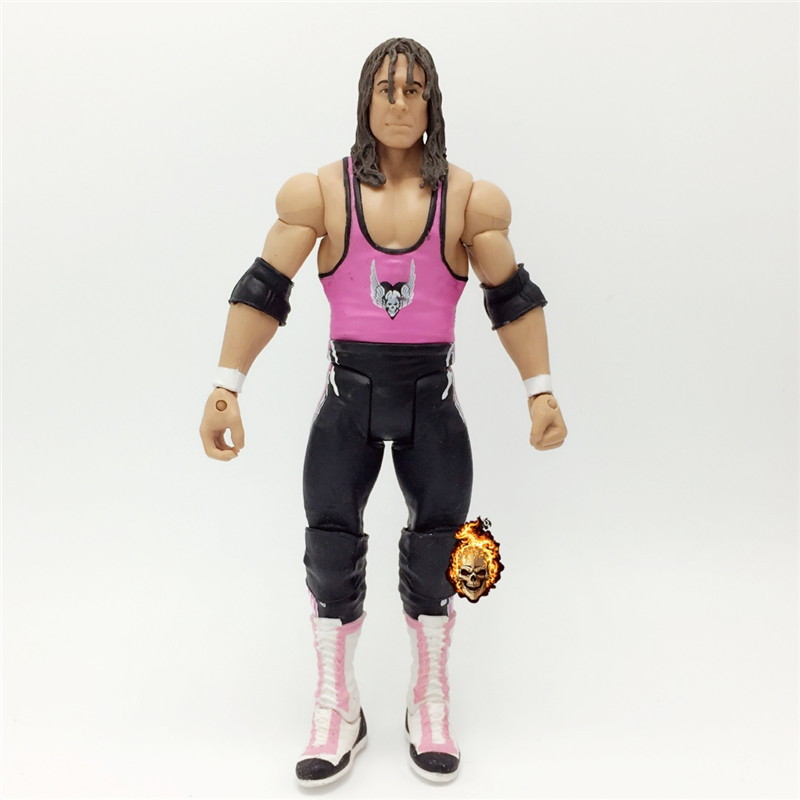 16CM High Quality Classic Toy Super Movable Wrestler occupation wrestling RA Bret Hart Fighter action figure Toys