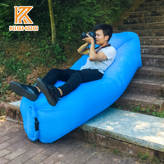 2017 High Quality Lazy Bag Pillow Sofa Outdoor Summer Down Sleeping Inflatable Air