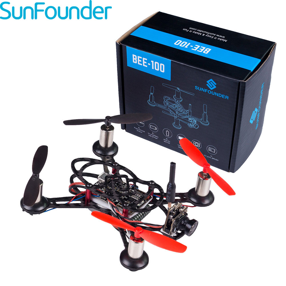 SunFounder BEE-100 RC Helicopter Carbon Fiber Drone with Camera USB Mini drone 600TVL Camera Included Profesional Drones 100mmx250mmx0 3mm 100% rc carbon fiber plate panel sheet 3k plain weave glossy hot