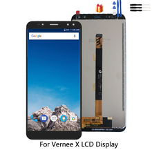 Original For Vernee x LCD Display Touch Screen Digitizer Assembly Repair Parts For Vernee x LCD Display Screen Free Tools