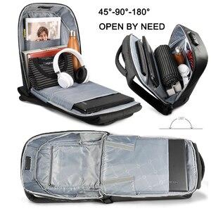 Image 3 - Tigernu Women Anti Theft TSA Lock female Laptop Backpack USB Charge School Bag for Teenager girls Feminine Backpacks luggage Bag