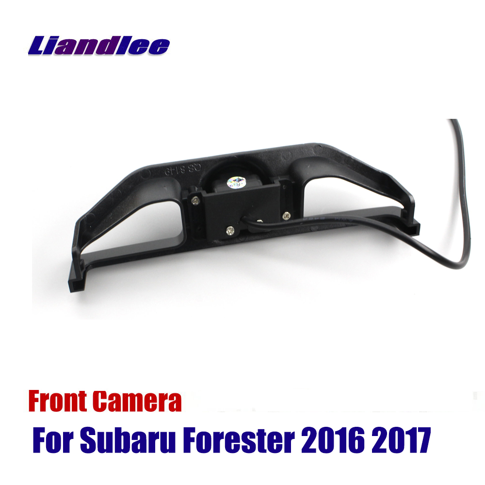 Liandlee AUTO CAM Car Front View Camera For Subaru Forester 2016 2017 Not Reverse Rear Parking Camera in Vehicle Camera from Automobiles Motorcycles
