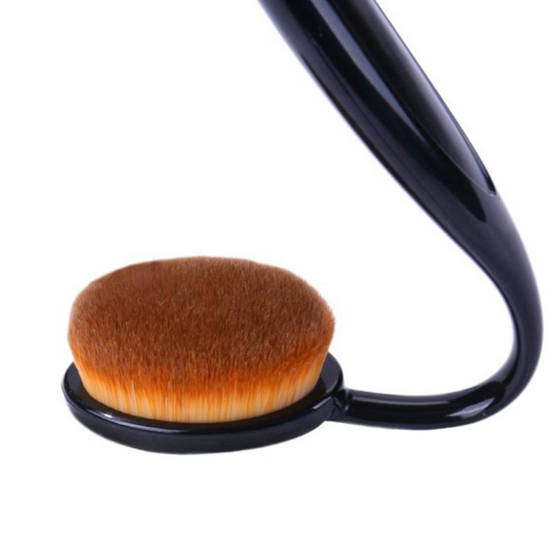 profession Powder Makeup Brush Beauty Cosmetic Foundation Blend Tools Cream Puff Makeup Brush Foundation Brushes bob cosmetic makeup powder w puff mirror ivory white 02