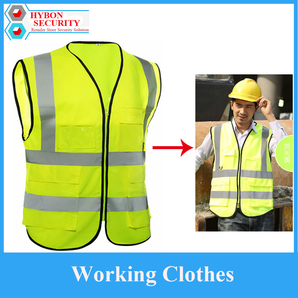 Safety Vest New Visibility Reflective Construction Vest Cleanroom Garments Working Weste Men Building Working Ceintures Homme