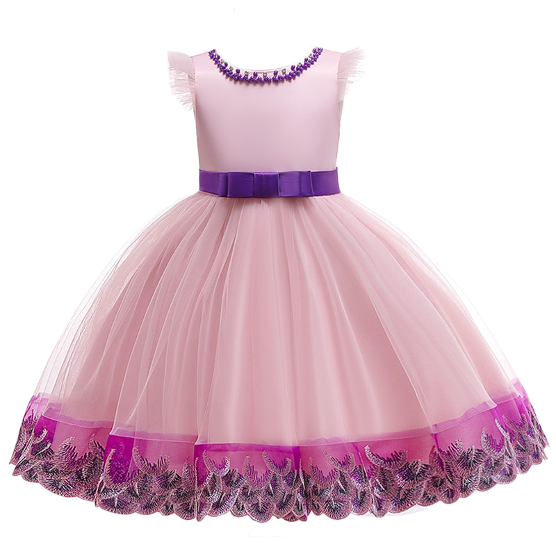 Flower     Girls     Dress   For Wedding and Party   Dress   2019 Summer Elegant   Girl   Formal Princess   Dress   Kids   Dresses   For Children Clothing