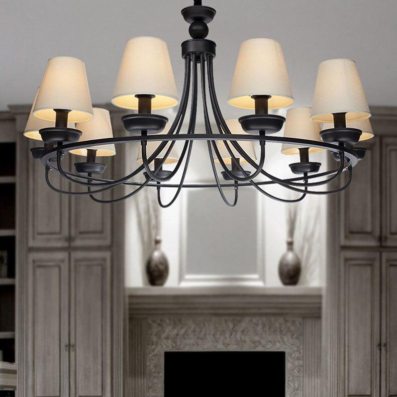 Online Kaufen Großhandel Metall Lampenschirm Aus China Metall ... American Style Wohnzimmer