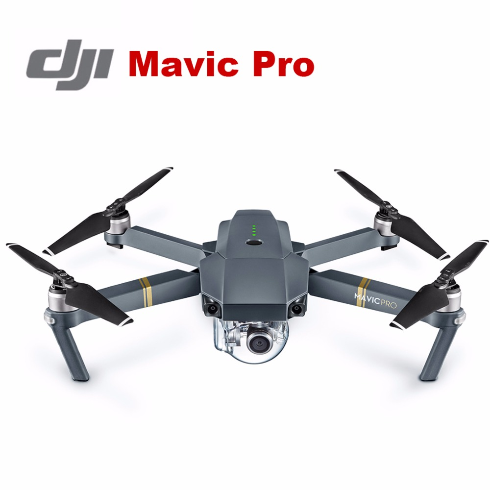 Original DJI Mavic Pro Folds Drone Helicopter with 4K Camera New OcuSync transmission system offers up to 4.3 miles