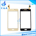 replacement parts for Samsung Galaxy Grand Prime G530 touch screen digitizer front panel with flex cable 1 piece free shipping