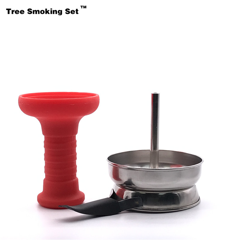 Hookah Shisha Charcoal Screen Holder With Handle Narguile To