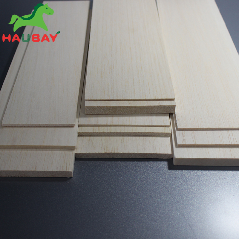 HAUBAY Balsa Wood 300x100x1 1 5 2 2 5 3 4 5 6 8mm lot 10pcs