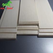 HAUBAY пробкового дерева 300x100x1/1,5/2/2,5/3/4/5/6/8mm Лот 10 шт пробкового деревянные листы для DIY самолет на продажу