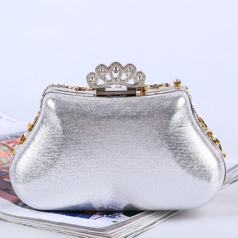 Marca de lujo del diamante bolsos de embrague mujeres cheongsam abalorios de cristal lentejuelas bolso de la boda del monedero del embrague bolso de noche de baile