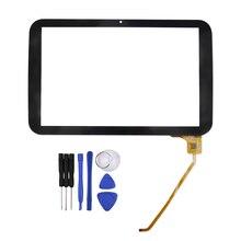 10.1 pulgadas Negro QSD 702-10061-02 para QUMO Sirius 1001 Tablet Pc de Pantalla Táctil digitalizador del Envío gratis