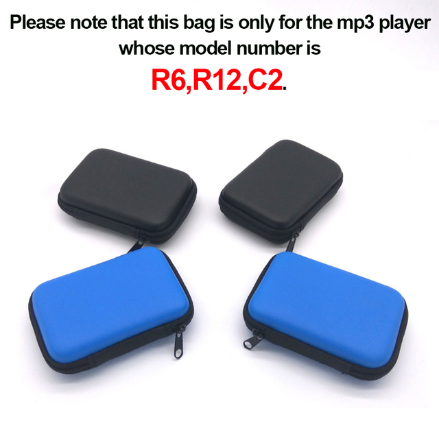 MP3 Player with Digital Storage Bag Mobile Phone Data Cable Package Zipper Bag Portable Zip Lock Organizer case 2018