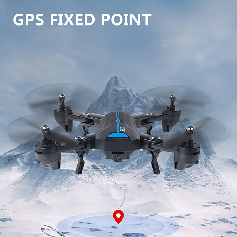 FPV Quadcopter Camera Folding-Drone Selfie Foldable A6 GPS With HD Aircraft