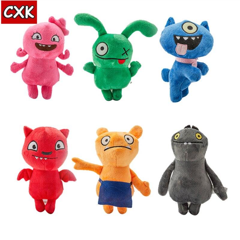 18cm Uglydoll Cartoon Anime Ox Moxy Babo Plush Toy Uglydog Soft Stuffed Plush Dolls Ugly Gifts For Children Kids Booba Pusheen