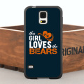 The Girl Loves Bears TPU Case for iPhone 5 5S  6/6s/7 Plus and Case for Samsung Galaxy Note2 3 4 5 S4 S5 S6 Edge Plus S7 Edge