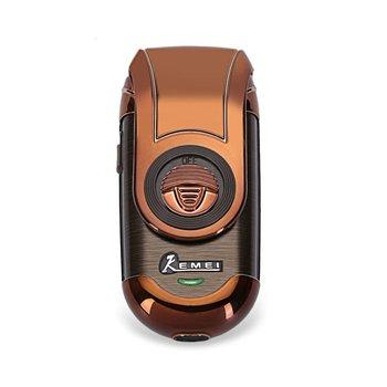 KM-Q788 Afeitadora eléctrica afeitadora recortadora de pelo portátil  flotante recargable barba maquinilla de afeitar viaje para hombres bda4826475ec